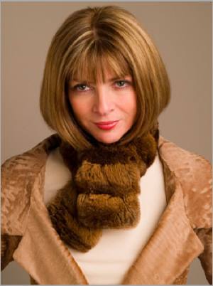 Anna Wintour, Editor-in-Chief of Vogue.