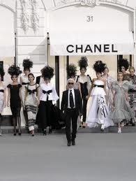 Fashion Designer Karl Largfeld of Chanel