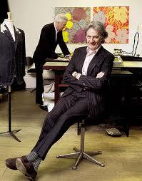 Fashion Designer Paul Smith. Photo courtesy of Paul Smith, Inc.