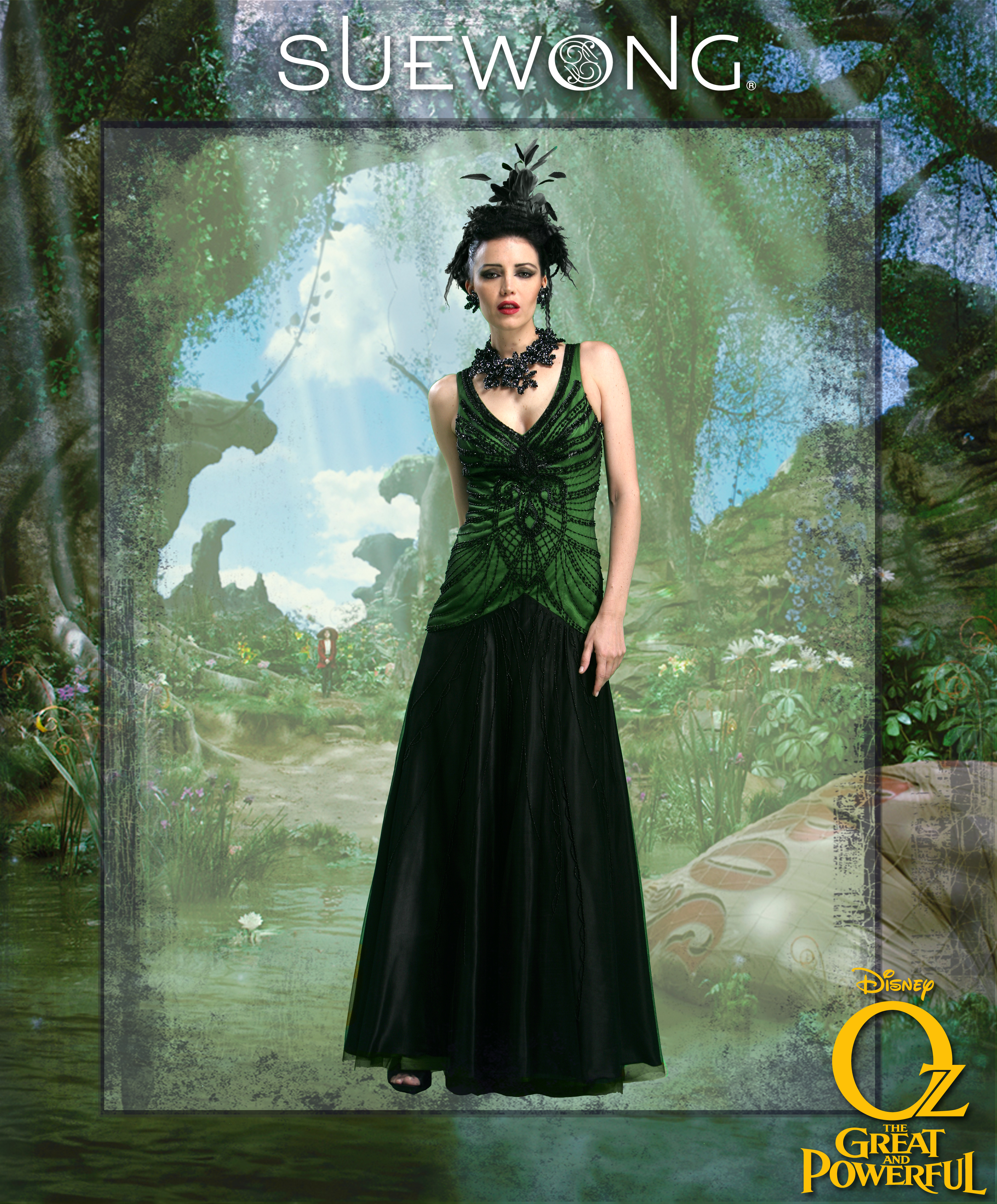 "fashion designer Sue Wong about her new line ""Oz, The Great & Powerful"""