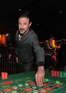 David Arquette at Lakers Casino Night presented by OneWest Bank and Pechanga Resort & Casino