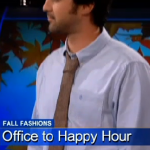 Fall Fashion: 5 Minute Makeover As Seen On KCAL9/CBS By Style Expert Justin Travis Howard
