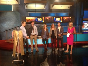 Fall Fashion: 5 Minute Makeover As Seen On KCAL9