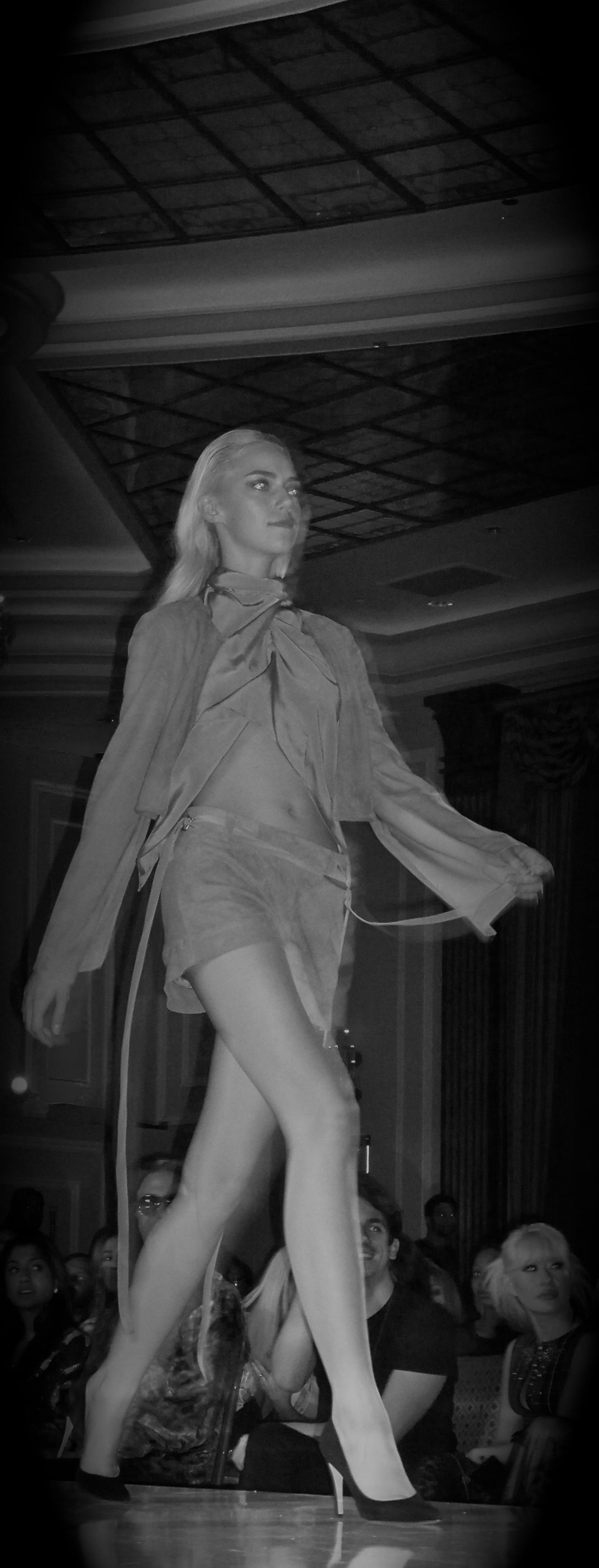 Runway Show - Designer Hallie Sara