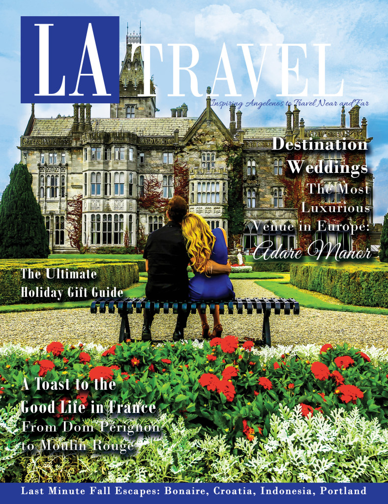The Wedding of LA Travel Magazine - Editors Michael Dunn & Jennifer Mclaughli